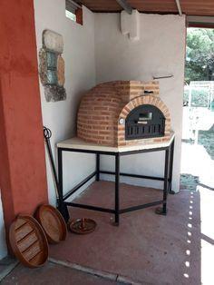 Hornos le a alfarer a duero horno de barro acabado en ladrillo en gerb lleida cocina - Chimeneas en valladolid ...