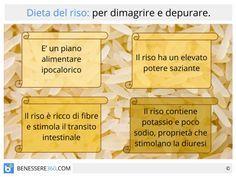 La dieta del riso: in cosa consiste? Cosa permette di mangiare? Funziona davvero? Facciamo un'approfondita analisi di questo piano alimentare, fornendo anche schema, menù e qualche ricetta, e consideriamo l'impatto che ha sulla salute.