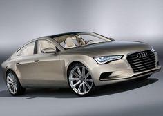 Audi sportback concept car