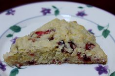 Cranberry orange scones...EASY, buttery, tart & sweet. Also addicting!!    #scones #breakfast #recipe #teatime