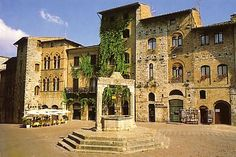 Where hubby and I stayed on our honeymoon!  San Gimignano, Italy