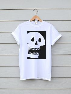 6e01189d9 Quality, tees & tanks designed on the French Riviera by 2GirlsLaughing.  Skull ShirtsTee ...