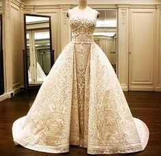 Zuhair Murad Sofia Vergara Wedding Dress