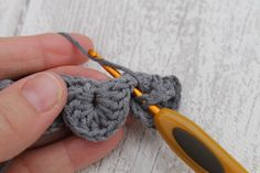 Crochet Crocodile Stitch Photo Tutorial