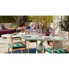 Table et table basse extérieur Cassina DINE OUT Ø 140 Bureau Design, Dining Room Design, Terrazzo, Ant Chair, Dinner Room