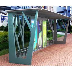 Наружная реклама металл автобусная остановка приют с афиши
