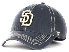 San Diego Padres 47 Brand MLB Grafton Cap Hats