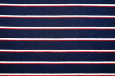 KN17 13883-601 Tricot Sea Stripey donkerblauw/rood