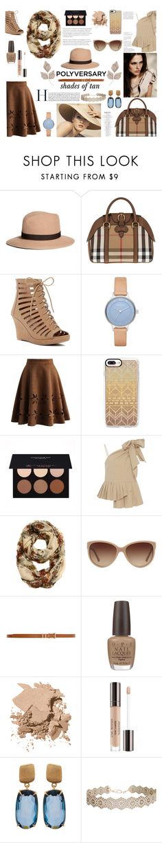 """""""Celebrate Our 10th Polyversary!"""" by waikiki24 ❤ liked on Polyvore featuring Brooks Brothers, Burberry, Top Moda, Skagen, Chicwish, Casetify, Anastasia Beverly Hills, Sea, New York, Giorgio Armani and Dorothy Perkins"""