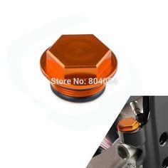 Orange CNC Billet Rear Brake Reservoir Cap Fits For Husaberg TE/FE/FS/FX 2009-2014 Husqvarna 2014-2015 #Affiliate