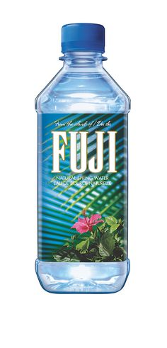 Fuji Water, my absolute favorite, especially when it is cold.  Rated one of the purest and cleanest bottled water brands in Fitness  or Shape magazine.  (Sorry I forgot which one)  #beautyforbreastcancer #fragrancenet