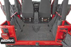 Bedrug BRTJ97R Rear Cargo Liner Kit for Jeep Wrangler TJ -- Want to know more, click on the image.