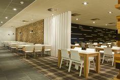 Inrichting bedrijfsrestaurant; De Nederlansche Bank. on Interior Design Served