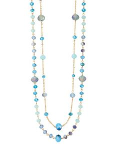 Double Stranded Necklace from THELIMITED.com