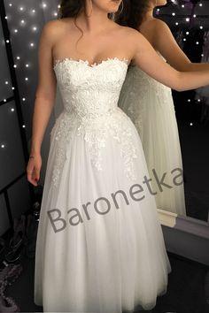 8beb7d8ce7 Suknia ślubna kolor jasny ecru. Suknia ślubna Marina. BARONETKA · sukienki