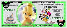 printable disney bucks for kids to earn and turn in for really money to spend when we get there
