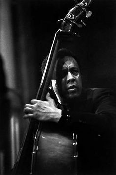 Charles Mingus by Guy Le Querrec - Paris 1964