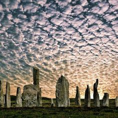 Calanais Stone Circle, Isle of Skye, Scotland