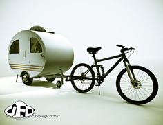 Urban Freedom Outlander: Benefits of a bicycle Camper/Trailer