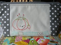 Stitchy Bag by 2mayboys (Using patterns from Wild Olive http://kitschydigitals.com/Crafty-Characters-Embroidery-Pattern.html)