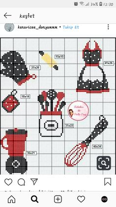 Crotchet Patterns, Loom Patterns, Beading Patterns, Cross Stitching, Cross Stitch Embroidery, Hand Embroidery, Cross Stitch Designs, Cross Stitch Patterns, Pearler Bead Patterns