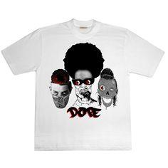 участие в конкурсе дизайна футболок группы DOPE D.O.D.