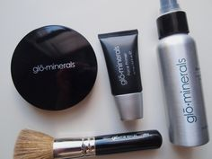 Glo minerals Flawless Finish.  Once again- these are the staples of a flawless finish! and don't underestimate the role of a good brush!Ageless Skin Laser Center carries all GloMinerals products. Call us at 318-410-1910 to order!