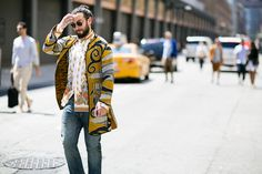 They Are Wearing: Men's New York Fashion Week Day 1 | WWD | Photo by Ryan Kibler