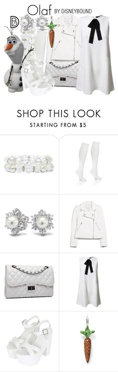 """""""Olaf"""" by leslieakay ❤ liked on Polyvore featuring Vieste Rosa, Bling Jewelry, MANGO, Bense Bags, TFNC, Topshop, Thomas Sabo, disney, disneybound and disneycharacter"""