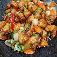 Resep ayam asam manis © 2020 Instagram/@maybelin_ma ; Instagram/@mrs.wijaya Food N, Good Food, Food And Drink, Chicken Teriyaki Recipe, Recipe Details, Indonesian Food, Yams, How To Cook Chicken, Food Videos