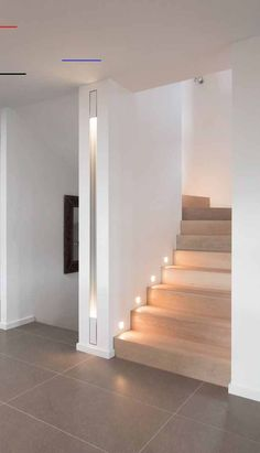 #hallway Flur Design, Modern Stairs, House Stairs, Staircase Design, Decorating Blogs, Stairways, Future House, Ikea, New Homes