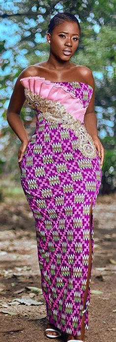 African fashion and life styles – African fashion and lifestyles website was created to show case the various styles the African prints can be styled into and generally the life styles of africans African Dresses For Women, African Print Dresses, African Attire, African Wear, African Women, African Prints, African Style, African Fashion Ankara, Ghanaian Fashion