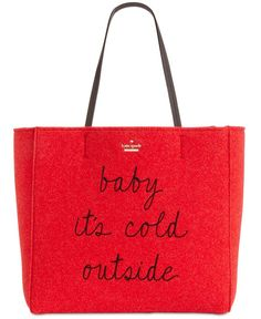 kate spade new york Baby It's Cold Hallie Tote