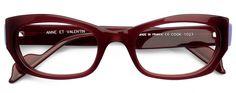Anne et Valentin Cook 1023 Burgundy eyeglasses Glasses Online, Eyeglasses For Women, Famous Brands, Eye Glasses, Burgundy, Cook, Sunglasses, Womens Fashion, Cooking