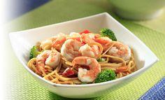 Salteado de camarón con fideos Recetas – PRONACA Procesadora Nacional de Alimentos