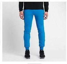 NWT MEN'S NIKE TECH FLEECE PANTS LIGHT PHOTO BLUE/HEATHER 545343-435 SZ XL Clothing, Shoes & Accessories:Men's Clothing:Athletic Apparel #nike #jordan #shoes houseofnike.com $62.13