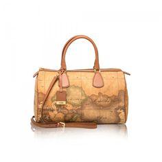 "Medium ""New Classic"" Satchel Bag Geo Bag, Armani Jeans, Office Outfits, Louis Vuitton Speedy Bag, Classic, Martini, Accessories, Shopping, Satchel Bag"
