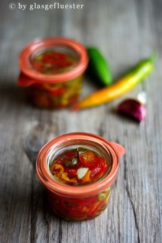 eingelegte Peperoni by Glasgeflüster 4 klein