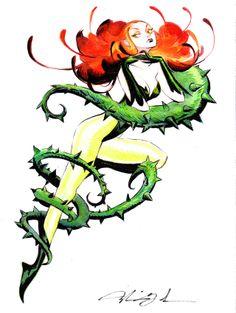 Mindy Lee Doodles : Poison Ivy