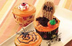 Halloween Cupcake Trio