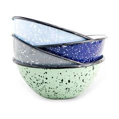 Build-Your-Own Graniteware Bowl Collection | Enamel Prepping Dishes