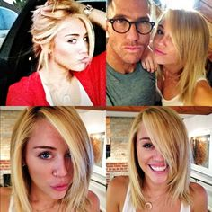 Not a huge Miley Cyrus fan, but I really like this hair length...