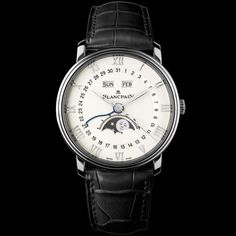 Blancpain [NEW] 6654-1127-55B Villeret Moonphase White Dial Stainless Steel (List Price:HK$120,000) OUR PRICE 售價: HK$76,500. #Blancpain #VilleretMoonphase #Villeret_Moonphase #BlancpainVilleretMoonphase #Blancpain_Villeret_Moonphase #6654112755B #6654_1127_55B