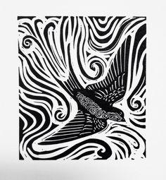 Glasur Swallow - Golondrina Linolschnitt - Red Hydrant Press A Quick Guide to Hypnotherapy Hypnosis Michigan, Cerámica Ideas, Linoleum Block Printing, Linoprint, Chalk Pastels, Wood Engraving, Elements Of Art, Linocut Prints, Woodblock Print