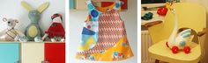Retro finds with fun fabric combinations