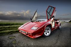 HDR Lamborghini Countach
