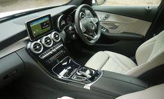 Mercedes-Benz C220 AMG Line interior