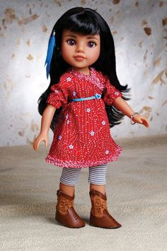 PlaymatesToys_Mosi  the Native American Indian doll. Representing Native American girls from Southwest US.