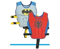 Swimvest Muscle Batman Or Spiderman Toys R Us