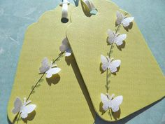Butterfly Gift Tags / Bridal Shower Gift Tags / Wedding Gift